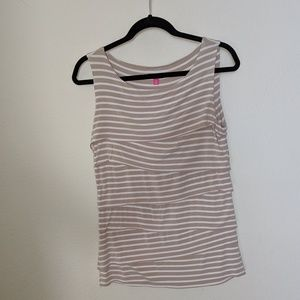 Vince Camuto Striped Tank
